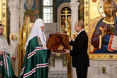 ΡΩΣΙΑ: Νέα γιγαντιαία Εκκλησία άνοιξε δίπλα στη φυλακή της KGB στη Μόσχα - Εικόνα6