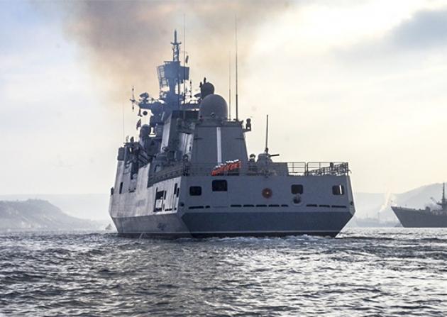 10 ρωσικά πολεμικά πλοία και υποβρύχια απέπλευσαν για τη Μεσόγειο: Ο Β.Πούτιν έστειλε έναν ειδικό φάκελο στον κυβερνήτη της Φρεγάτας «Ναύαρχος Grigorovich»… Ποια ήταν η διαταγή του - Εικόνα0