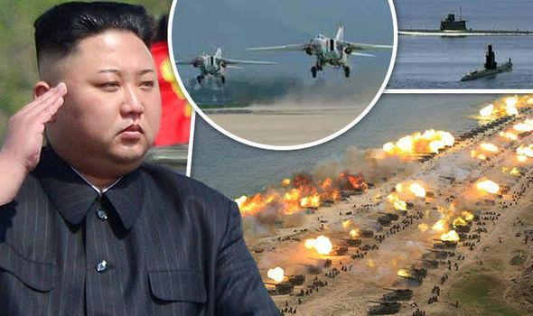 Συγκλονιστικές εικόνες: Σε θέσεις μάχης ο Στρατός της Β.Κορέας – Ο Κιμ Γιονγκ Ουν επιθεωρεί τα στρατεύματα: «Αμερικανοί είμαστε έτοιμοι»- Δείτε εικόνες και βίντεο - Εικόνα0