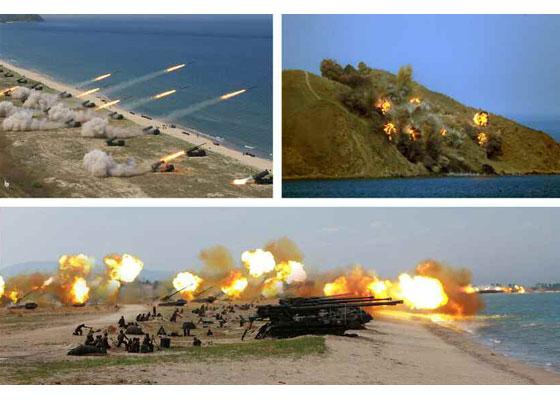 Συγκλονιστικές εικόνες: Σε θέσεις μάχης ο Στρατός της Β.Κορέας – Ο Κιμ Γιονγκ Ουν επιθεωρεί τα στρατεύματα: «Αμερικανοί είμαστε έτοιμοι»- Δείτε εικόνες και βίντεο - Εικόνα11
