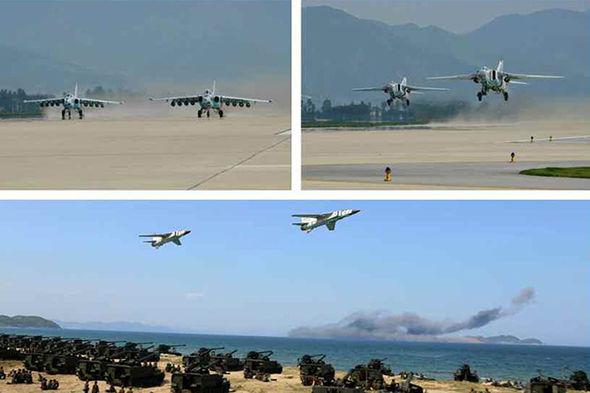 Συγκλονιστικές εικόνες: Σε θέσεις μάχης ο Στρατός της Β.Κορέας – Ο Κιμ Γιονγκ Ουν επιθεωρεί τα στρατεύματα: «Αμερικανοί είμαστε έτοιμοι»- Δείτε εικόνες και βίντεο - Εικόνα2