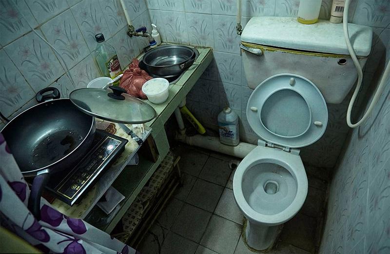 Συγκλονιστικές φωτογραφίες από τα «σπίτια-φέρετρα» στο Χονγκ Κονγκ - Εικόνα 12
