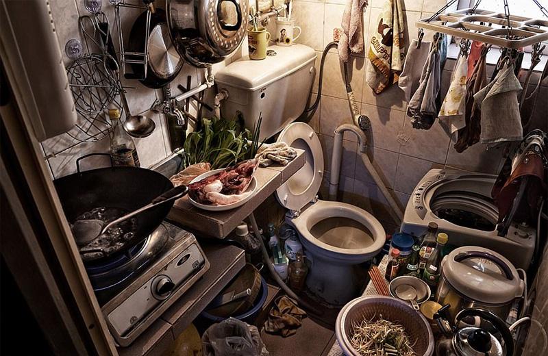 Συγκλονιστικές φωτογραφίες από τα «σπίτια-φέρετρα» στο Χονγκ Κονγκ - Εικόνα 3