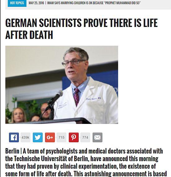 ΣΥΓΚΛΟΝΙΣΤΙΚΟ! Επιστήμονες αποδεικνύουν επιστημονικά ότι υπάρχει ζωή μετά το θάνατον - Εικόνα4
