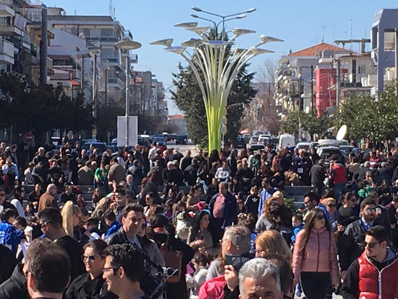 Συλλαλητήριο στην Ορεστιάδα για τους δύο Έλληνες στρατιωτικούς - Εικόνα 1