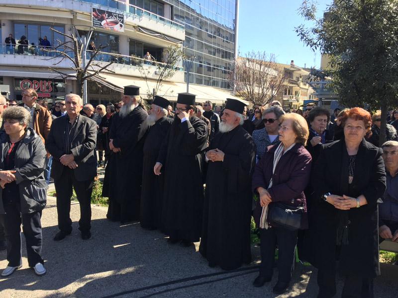 Συλλαλητήριο στην Ορεστιάδα για τους δύο Έλληνες στρατιωτικούς - Εικόνα 2