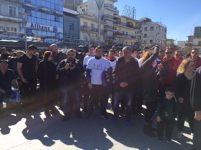Συλλαλητήριο στην Ορεστιάδα για τους δύο Έλληνες στρατιωτικούς - Εικόνα 3