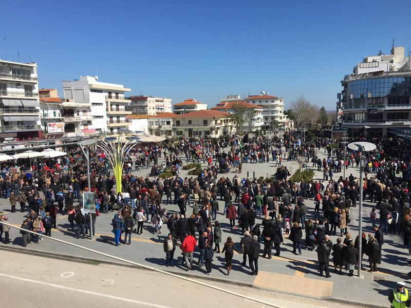 Συλλαλητήριο στην Ορεστιάδα για τους δύο Έλληνες στρατιωτικούς - Εικόνα 6