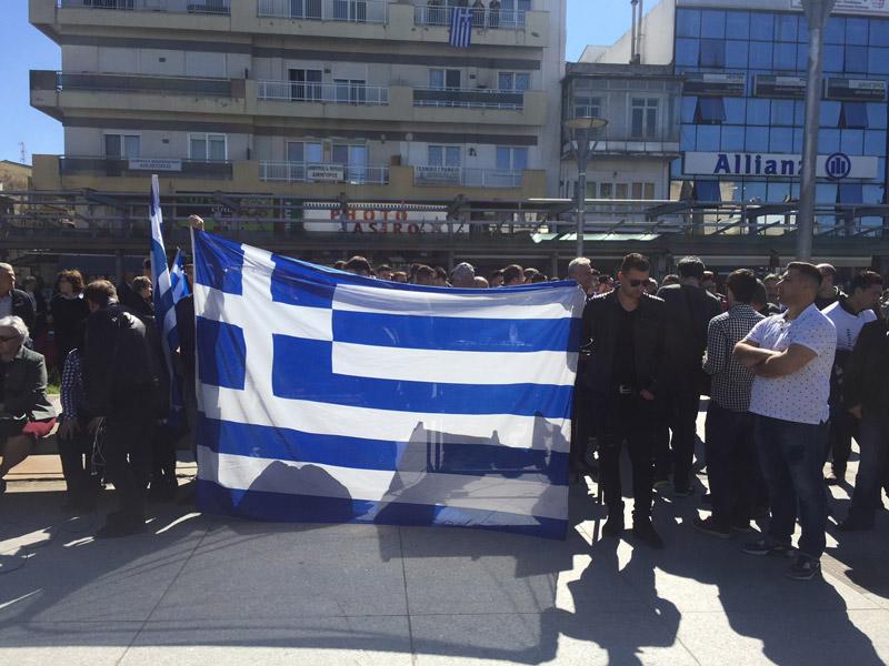 Συλλαλητήριο στην Ορεστιάδα για τους δύο Έλληνες στρατιωτικούς - Εικόνα 9
