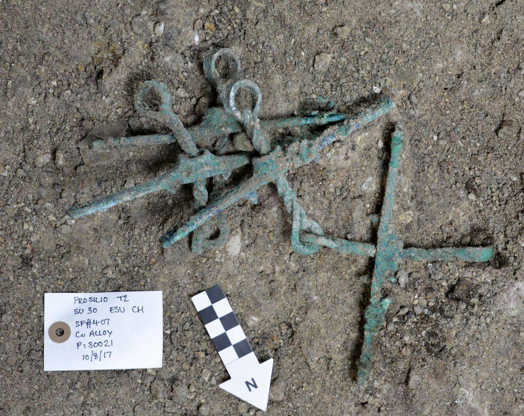 Σημαντική ανακάλυψη στον Ορχομενό: Βρέθηκε μυκηναϊκός τάφος με έναν νεκρό πολεμιστή (εικόνες) - Εικόνα0