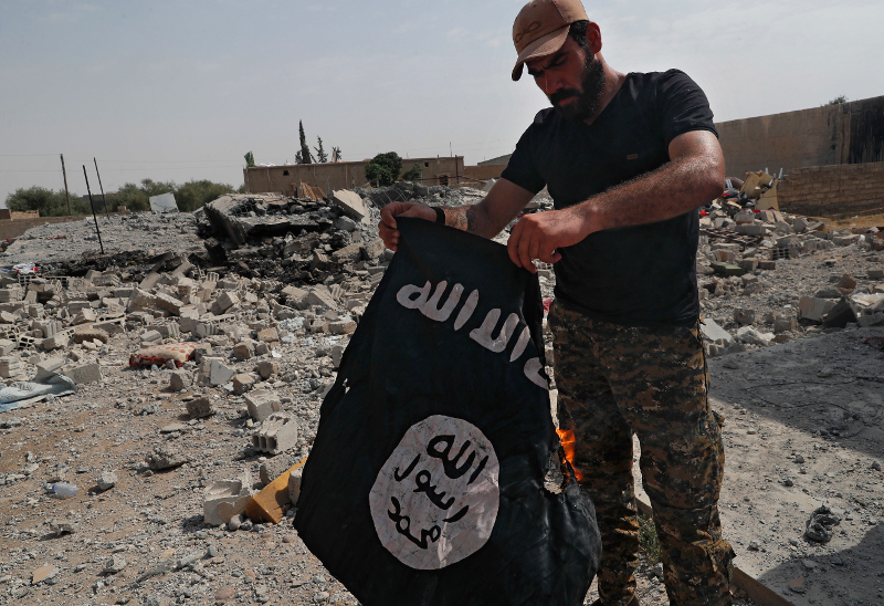 Συρία: Λιποτάκτες τζιχαντιστές προσπαθούν μέσω Τουρκίας να επιστρέψουν στην Ευρώπη - Εικόνα