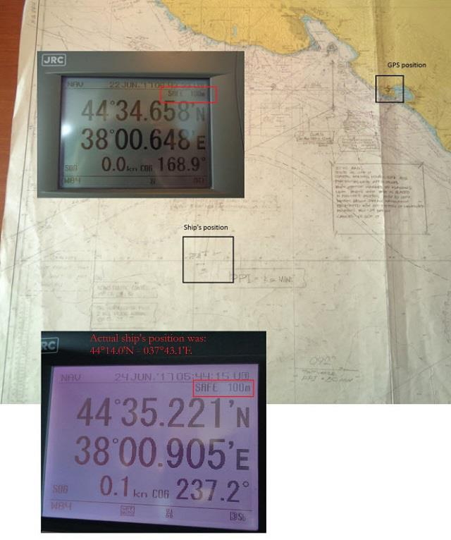 «SOS -SOS- Το GPS τρελάθηκε, ρωσικά πλοία εξαφανίζονται και εμφανίζονται συνεχώς» ανέφερε Αμερικανός καπετάνιος – Δείτε την εικόνα - Εικόνα0