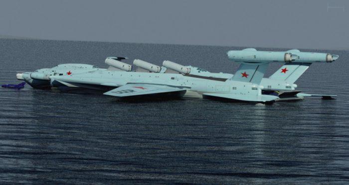 Στόλο Εκρανοπλάνων ετοιμάζει η Μόσχα για την πιο «καυτή» περιοχή του πλανήτη την Αρκτική αλλά και την Ανατολική Μεσόγειο - Εικόνα0