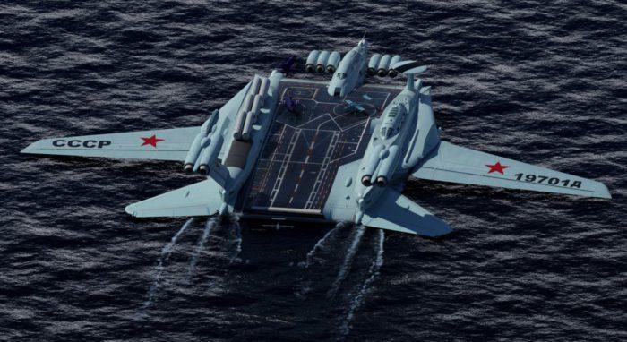Στόλο Εκρανοπλάνων ετοιμάζει η Μόσχα για την πιο «καυτή» περιοχή του πλανήτη την Αρκτική αλλά και την Ανατολική Μεσόγειο - Εικόνα1
