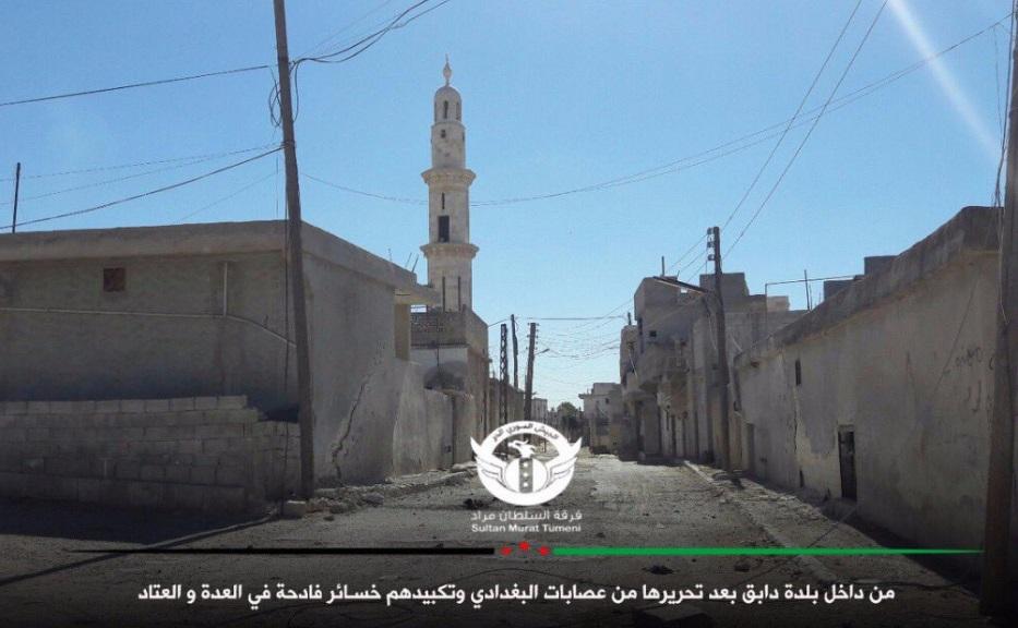 Η Ταξιαρχία του Σουλτάν Μουράντ κατέλαβε τη «Ναμπίκ»…Εδώ θα γίνει η Μάχη της Αποκάλυψης ,σύμφωνα με Προφητεία του Ισλάμ! - Εικόνα2
