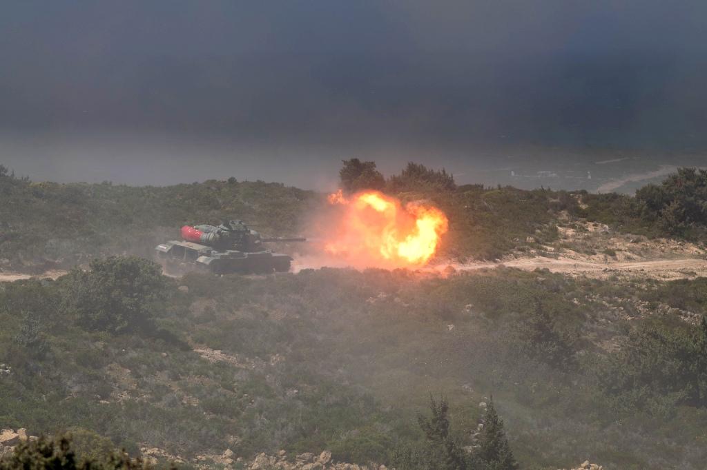 Ταχύτατη αντίδραση των Μαχητών της ν. Κω και προσβολή Αεροπρογεφυρώματος με Άρματα και Καταδρομείς! - Εικόνα7