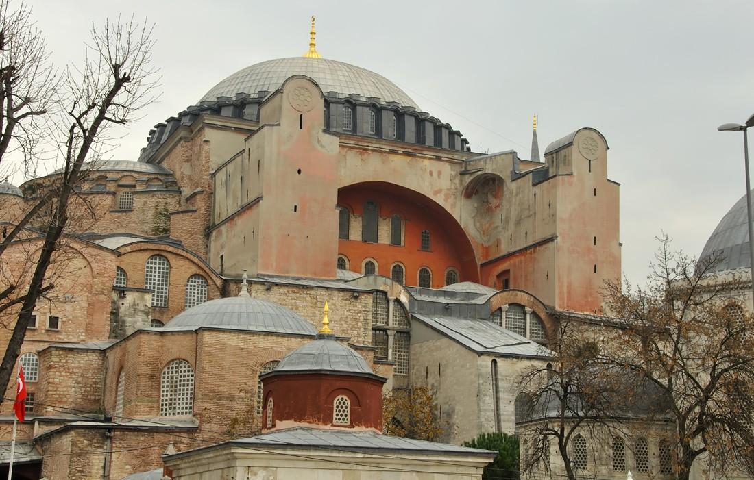 Η τελευταία λειτουργία στην Αγιά Σοφιά 466 χρόνια μετά την Άλωση - Εικόνα