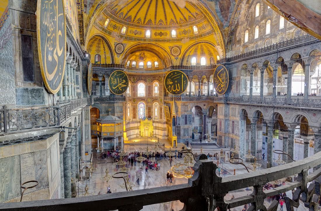 Η τελευταία λειτουργία στην Αγιά Σοφιά 466 χρόνια μετά την Άλωση - Εικόνα2
