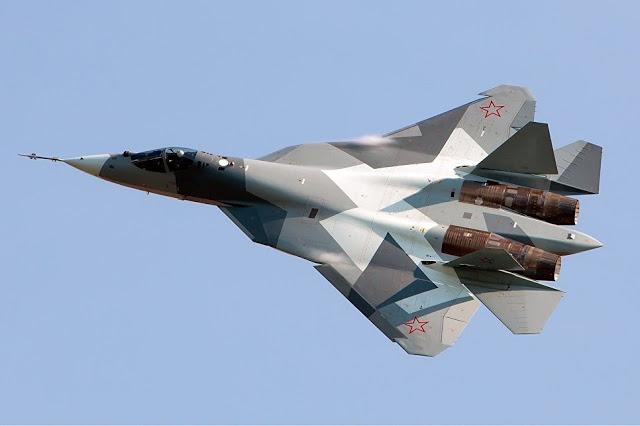 Τα τελευταίου τύπου μαχητικά αεροσκάφη Su-57 πέρασαν σε πιλοτική εκμετάλλευση - Εικόνα1