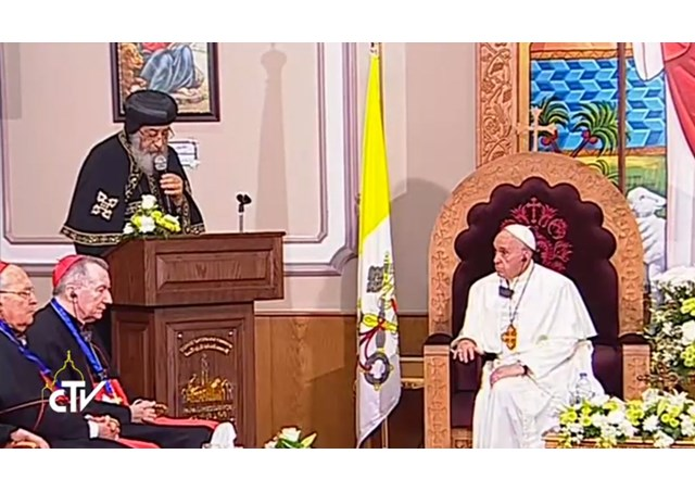 Θεολογικός Σεισμός! Εκτός ορίων ο Πάπας: Είμαστε αδελφοί Χριστιανοί και Μουσουλμάνοι! Παιδιά μου και οι Ορθόδοξοι – «Με τους Κόπτες έχουμε κοινό βάπτισμα!» - Εικόνα2