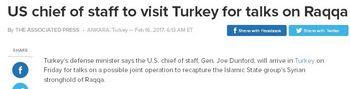 Τουρκία: Μετά τον αρχηγό της CIA, πηγαίνει τώρα ο αρχηγός στρατού των ΗΠΑ - Εικόνα1
