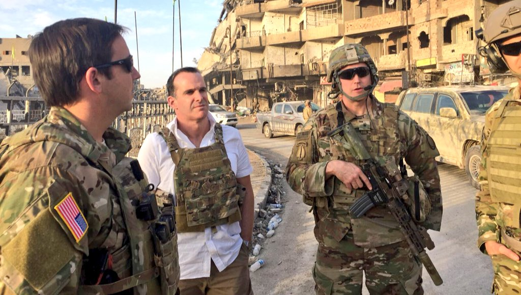 Τουρκικό ένταλμα σύλληψης για τον κορυφαίο Αμερικανό διπλωμάτη Brett McGurk; – Στον πάτο οι σχέσεις Ερντογάν-ΗΠΑ - Εικόνα0