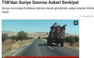 Τουρκικός στρατός μεταφέρεται στα σύνορα με Συρία - Εικόνα1