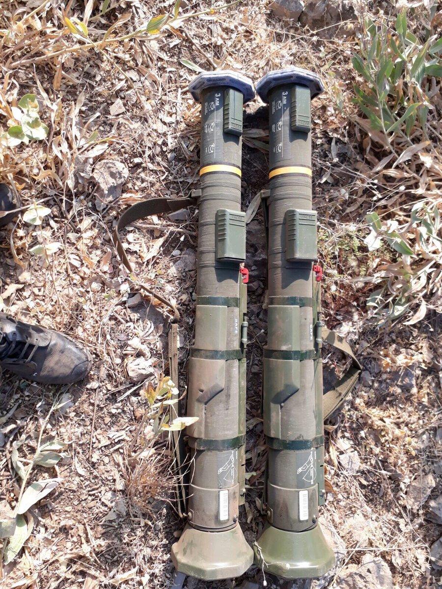 Τους κονιορτοποίησαν: Εφοδίασαν τις δυνάμεις του PKK με αντιαρματικούς πυραύλους ATGM AT-4 οι ΗΠΑ – Βίντεο - Εικόνα2