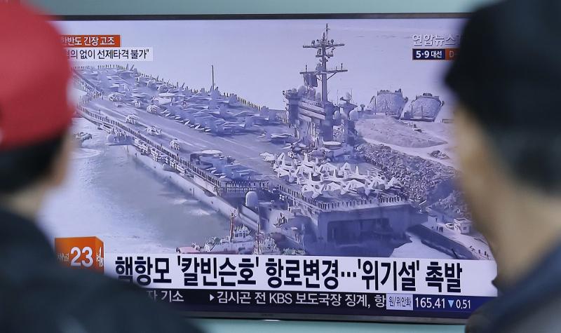 Τραμπ: «Πάντα πρέπει να ανησυχείς για πυρηνικό πόλεμο με τη Β. Κορέα» - Εικόνα