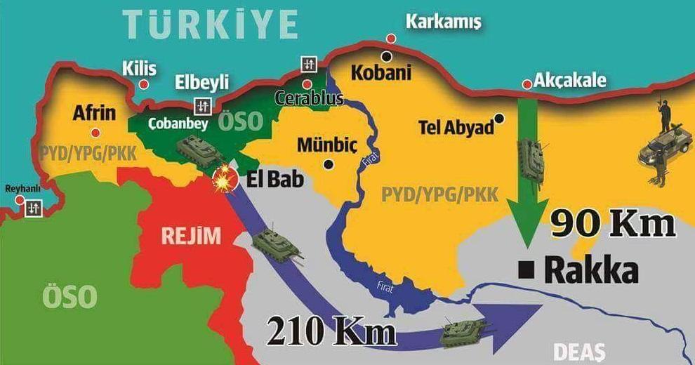Το τρελό σχέδιο Ερντογάν να καταλάβει τη Ράκα ένωσε Κούρδους και Δαμασκό να τον πολεμήσουν - Εικόνα0