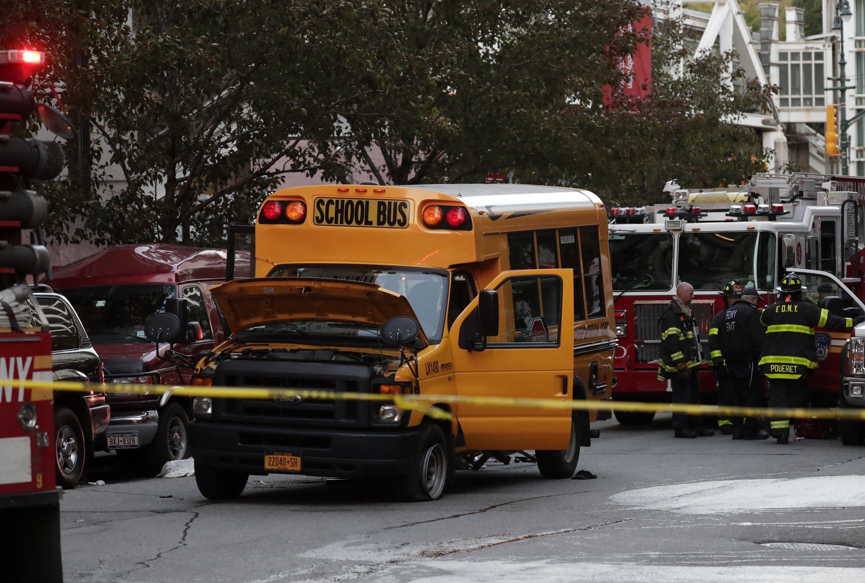 Τρομοκρατικό χτύπημα στο Μανχάταν: 8 νεκροί από επίθεση με φορτηγό - Εικόνα 1