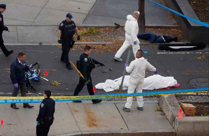 Τρομοκρατικό χτύπημα στο Μανχάταν: 8 νεκροί από επίθεση με φορτηγό - Εικόνα 3