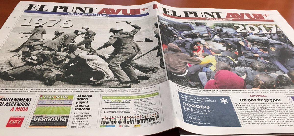 Βαθαίνει η κρίση: Τελεσίγραφο από Καταλονία για αποχώρηση των ισπανικών δυνάμεων – Ο Ραχόι θα εφαρμόσει το Άρθρο 155 για να αποτρέψει την Ανεξαρτησία ξεκινώντας νέο εμφύλιο - Εικόνα1
