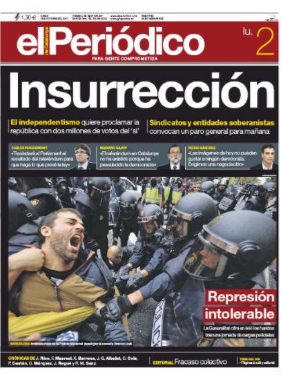 Βαθαίνει η κρίση: Τελεσίγραφο από Καταλονία για αποχώρηση των ισπανικών δυνάμεων – Ο Ραχόι θα εφαρμόσει το Άρθρο 155 για να αποτρέψει την Ανεξαρτησία ξεκινώντας νέο εμφύλιο - Εικόνα3
