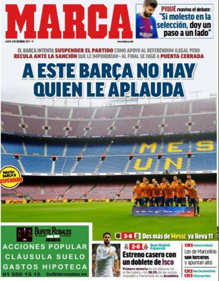 Βαθαίνει η κρίση: Τελεσίγραφο από Καταλονία για αποχώρηση των ισπανικών δυνάμεων – Ο Ραχόι θα εφαρμόσει το Άρθρο 155 για να αποτρέψει την Ανεξαρτησία ξεκινώντας νέο εμφύλιο - Εικόνα7