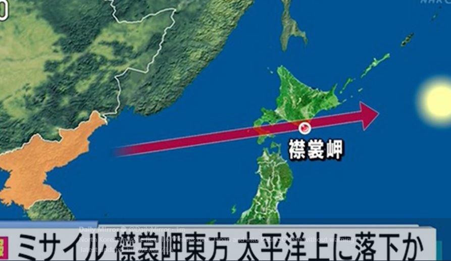 Η Βόρεια Κορέα εκτόξευσε πύραυλο που πέρασε πάνω από την Ιαπωνία - Εικόνα 0