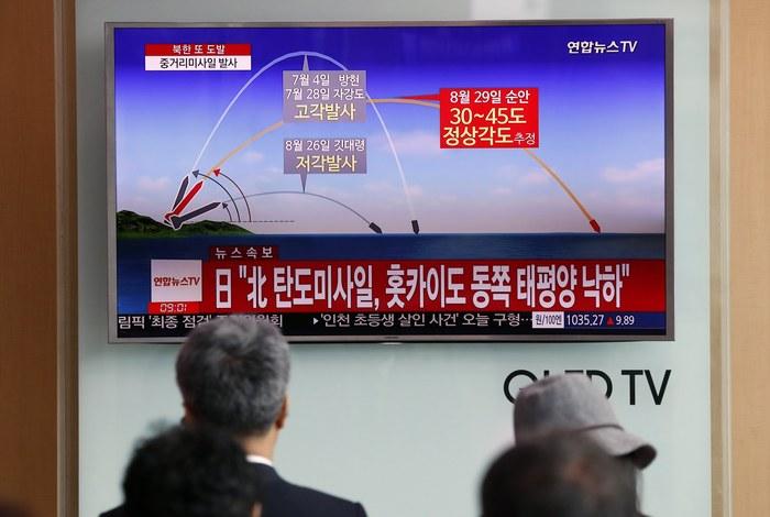 Η Βόρεια Κορέα εκτόξευσε πύραυλο που πέρασε πάνω από την Ιαπωνία - Εικόνα 1