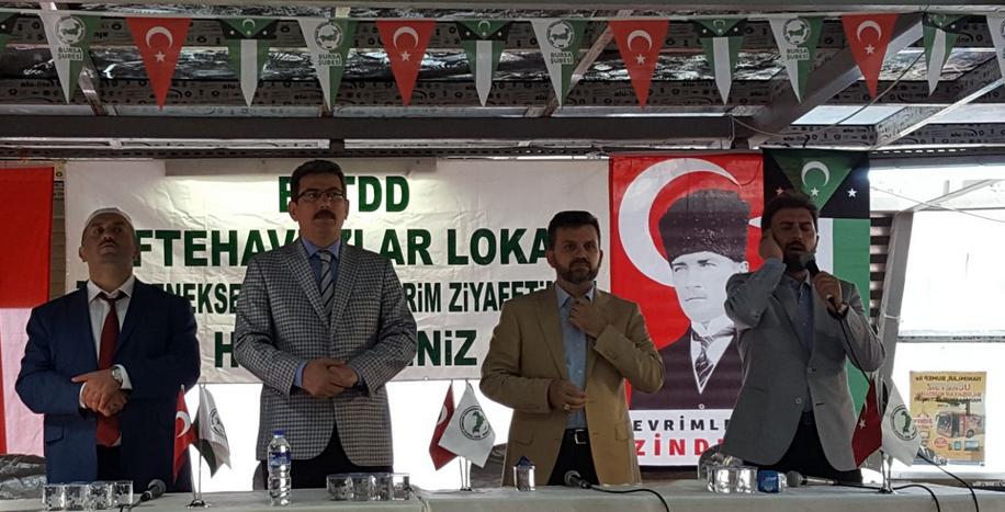 """Βουλευτής του ΕΛΛΗΝΙΚΟΥ κοινοβουλίου μιλά σε εκδήλωση με σημαίες της """"ανεξάρτητης Θράκης""""! - Εικόνα1"""