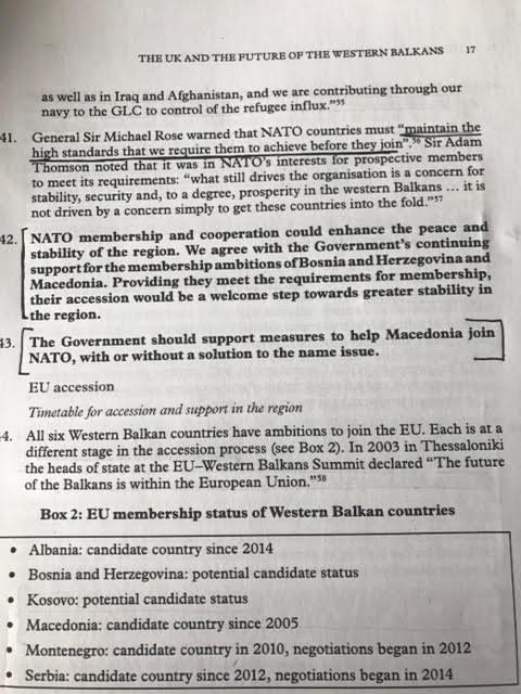 Βρετανία: Να ενταχθεί η «Μακεδονία» στο ΝΑΤΟ με ή χωρίς λύση για το όνομα! - Εικόνα 0