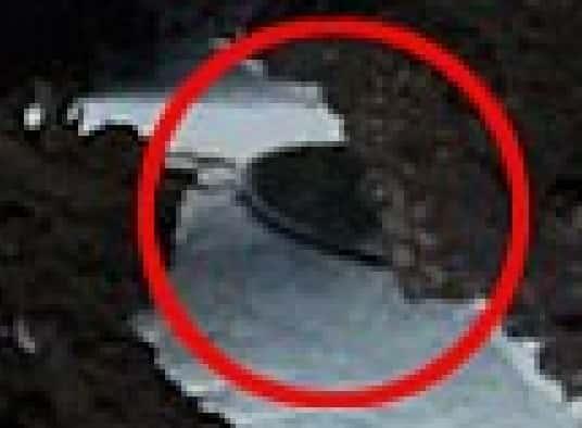 Βρέθηκε Κρυμμένος Ιπτάμενος Δίσκος στην Ανταρκτική; (φωτο-συντεταγμένες) - Εικόνα1