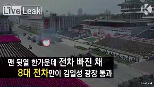 Ένα χαλασμένο άρμα μάχης και ένας «λυγισμένος» (;) πύραυλος έδειξαν την κακή εικόνα των βορειοκορεατικών ΕΔ (φωτό, βίντεο) - Εικόνα2