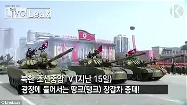 Ένα χαλασμένο άρμα μάχης και ένας «λυγισμένος» (;) πύραυλος έδειξαν την κακή εικόνα των βορειοκορεατικών ΕΔ (φωτό, βίντεο) - Εικόνα3