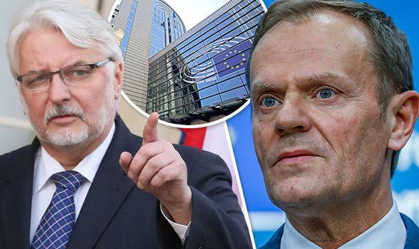 ΧΑΟΣ ΣΤΗΝ ΕΥΡΩΠΗ: Η Πολωνία κατηγορεί τους επικεφαλής της ΕΕ ως «απατεώνες» και ετοιμάζει έξοδο! Διαλύεται η ανίερη ένωση - Εικόνα0