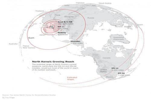 Χάρτης δείχνει ποιές πόλεις των ΗΠΑ μπορεί να κτυπηθούν με πυρηνικά. - Εικόνα2