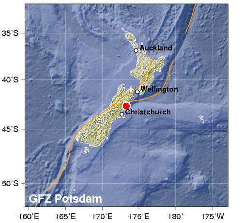 Νέα Ζηλανδία: Σεισμός 7,8 Ρίχτερ και τσουνάμι στις ακτές - Εικόνα 0