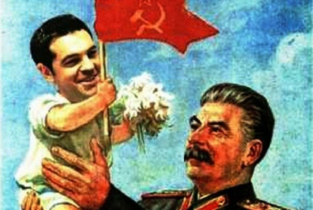 Αποτέλεσμα εικόνας για Τσίπρας σοβιέτ