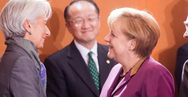Ηχηρή απάντηση Μέρκελ στον Τσίπρα: Θέλουμε το ΔΝΤ στο ελληνικό πρόγραμμα