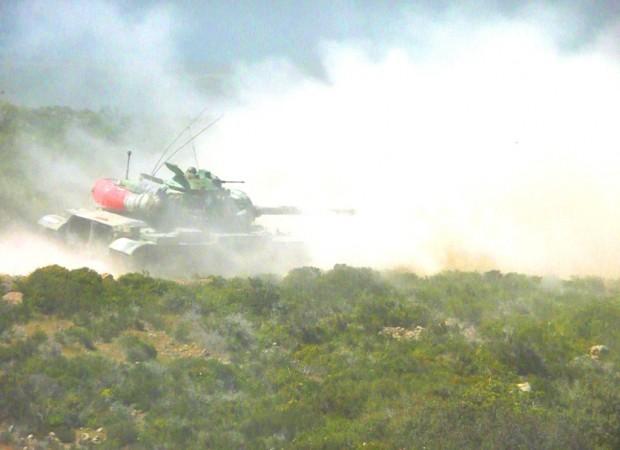 Ταχύτατη αντίδραση των Μαχητών της ν. Κω και προσβολή Αεροπρογεφυρώματος με Άρματα και Καταδρομείς!