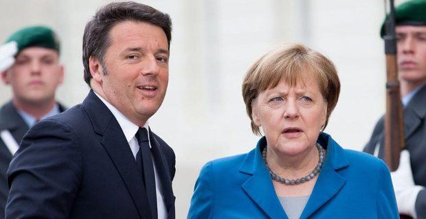 Αγριο ξέσπασμα Ρέντσι κατά Μέρκελ: Τέρμα τα μαθήματα από το Βερολίνο