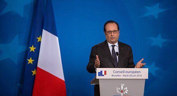 Ο Hollande ανταποκρίθηκε στις εκκλήσεις για δημοψήφισμα για την απόσυρση της Γαλλίας από την ΕΕ